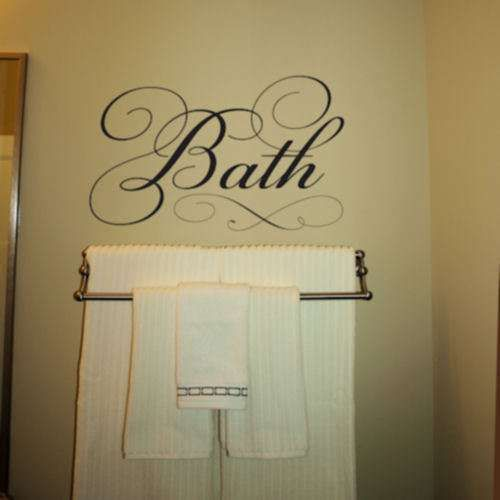 Bath Wall Decal Part 67