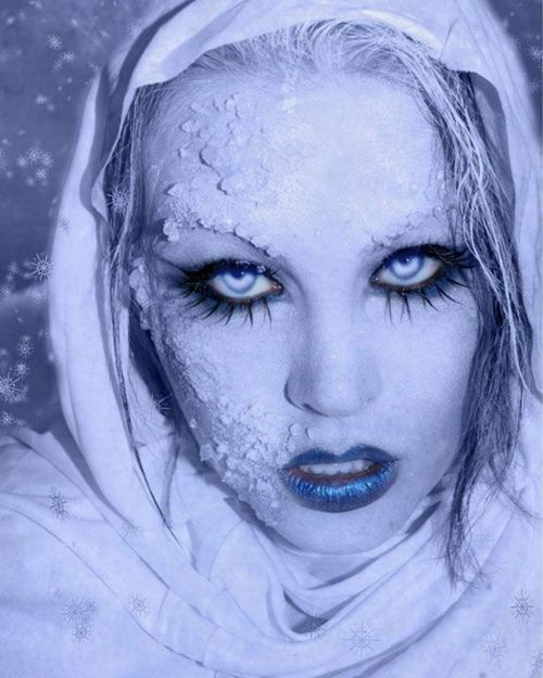 Halloween horror stories frozen people make up