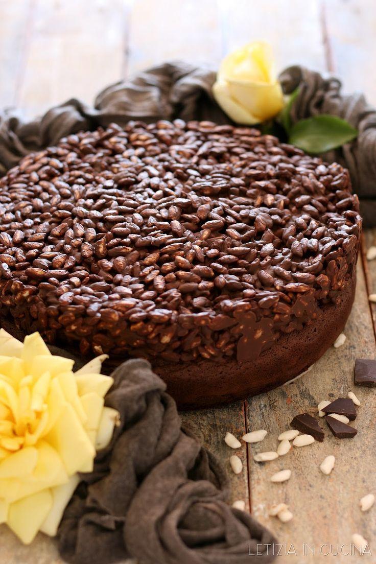 Letizia in Cucina: Torta cioccolato e riso soffiato