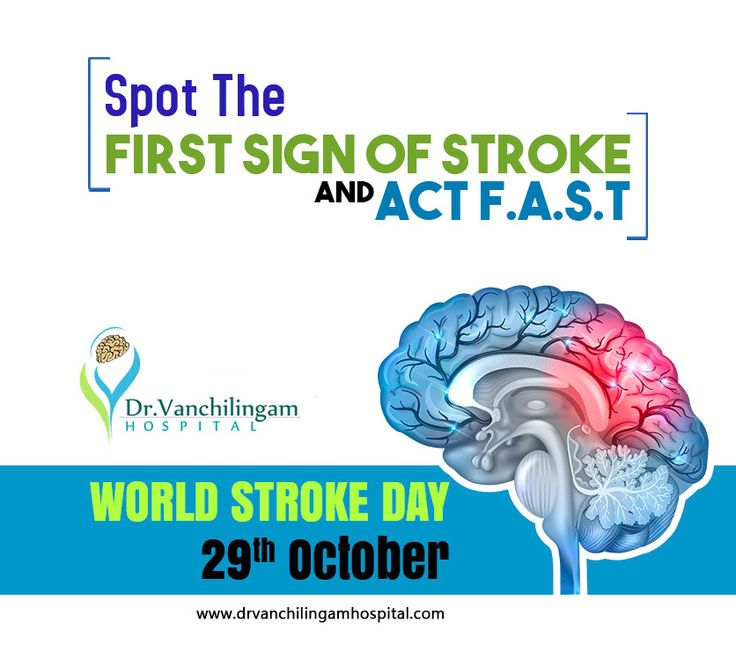 World Stroke Day Is Observed On October 29 Which Raises Awareness Of The Prevention Of Stroke And Ensures Better Car World Stroke Day Vision Problems Neurology