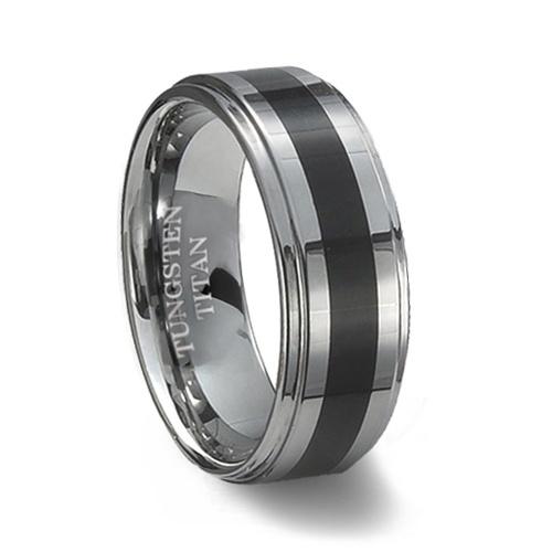 56236f3e659633fe0e23a401921f297e tungsten mens rings tungsten wedding rings jpg - Guys Wedding Rings