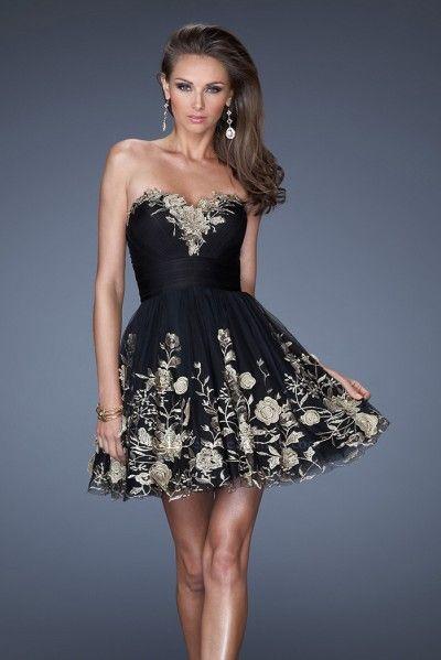 The 109 best Short Prom Dresses images on Pinterest | Short prom ...