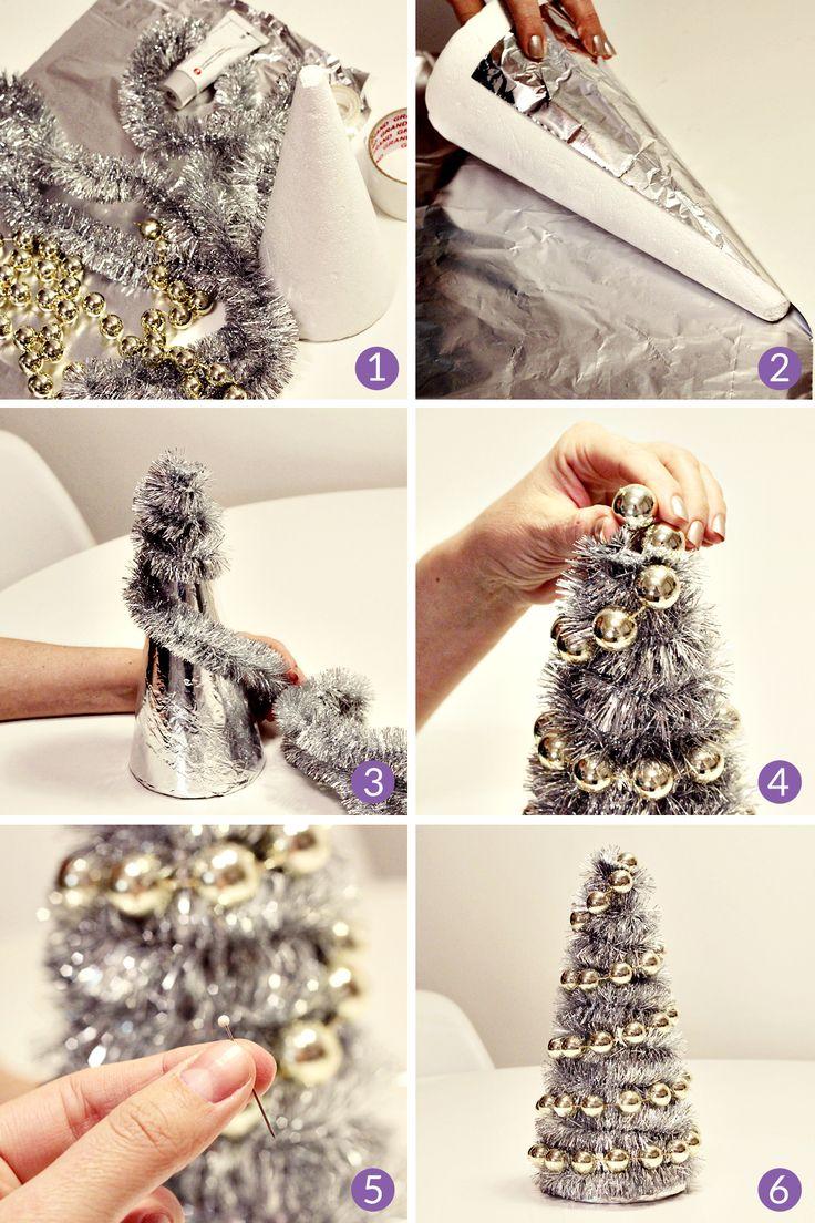 DIY choinka - ekspresowa, świąteczna dekoracja w mniej niż 10 minut :) - Design Your Life