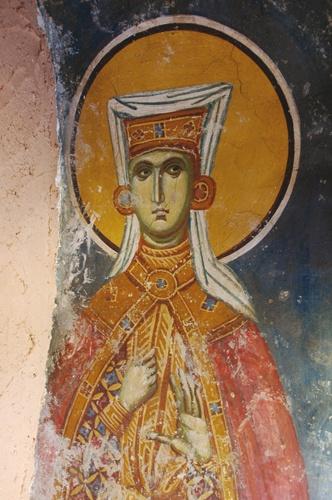 Fresco  Serbia Does anyone know the Saint?