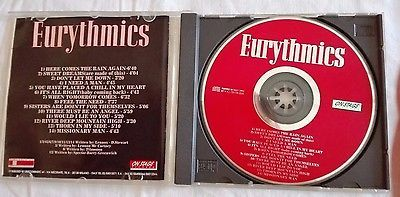 EURYTHMICS - LIVE IN EUROPE 11-06-93 - CD VINTAGE ULTRA RARO COLLEZIONE - LENNOX