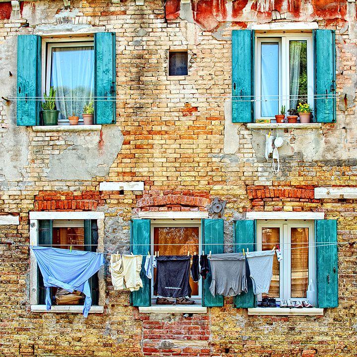 Venetian Windows by Edgar Barany