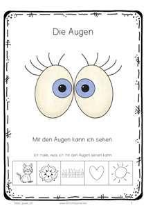 Meine 5 Sinne: die Augen