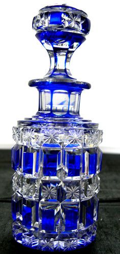 Cobalt blue american brilliant glass. Wouldn't you love to have this piece in your collection? Would you use it for everyday or just special occassions?