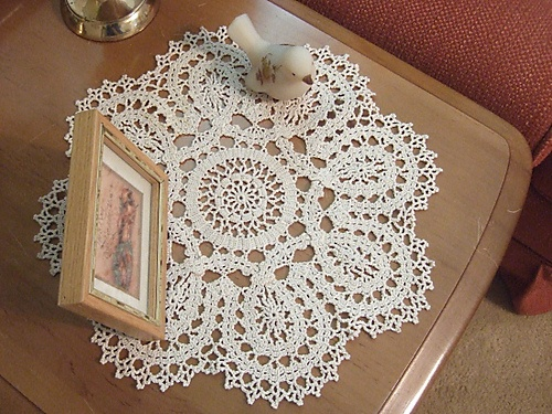 Ravelry: 19 Bruges Lace Mat pattern by Decorative Crochet