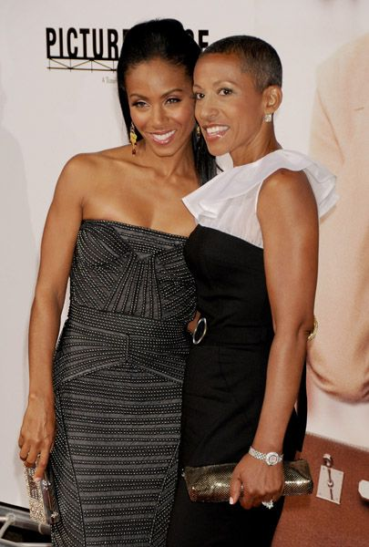 Jada Pinkett Smith and her Mom