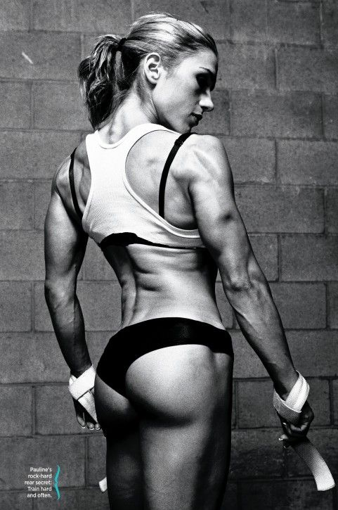 Six Tips For a Rock-Hard Rear - this was in the May/June issue of Muscle and Fitness Hers.