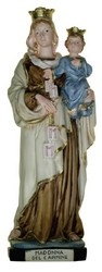 """12"""" Our Lady of Mount Carmel Statue $130.95"""