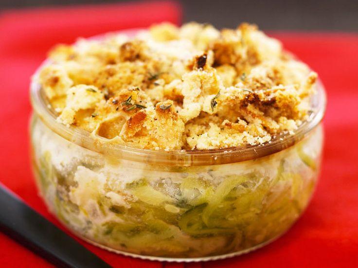 Découvrez la recette Crumble de courgettes au boursin sur cuisineactuelle.fr.