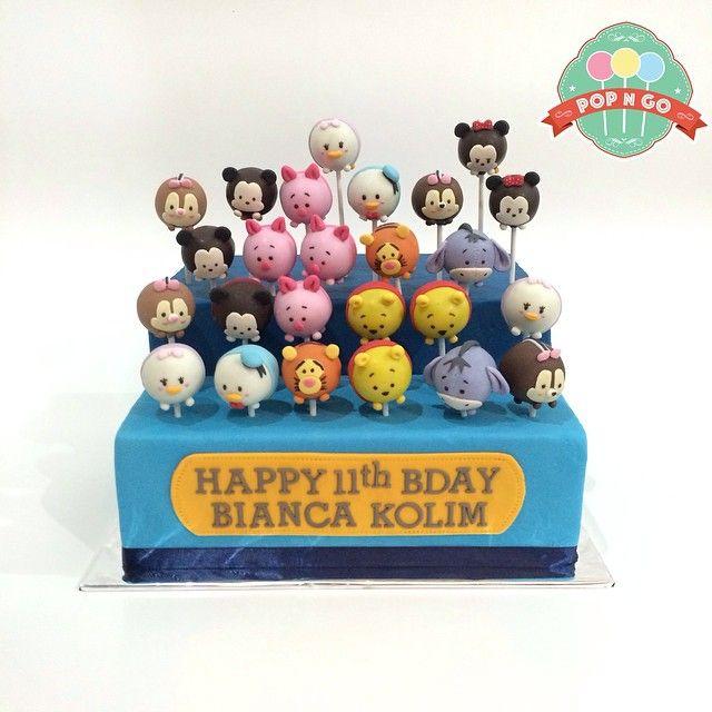 Tsum tsum bday cake
