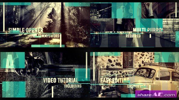 Videohive Simple Opener   after effects   After effects intro