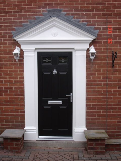 Complete your home with our fabulous Schwarz Braun Black composite doors and sleek chrome furnishing. & 18 best Endurance Door Colour Range images on Pinterest | Composite ...