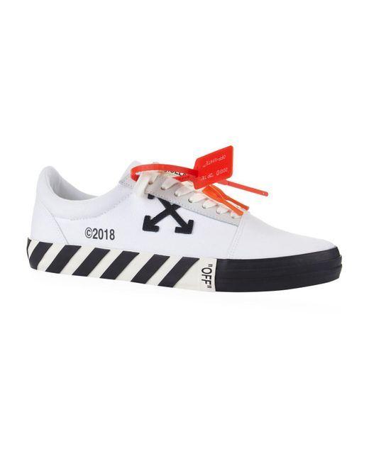 best loved 72553 8b045 Off-White c o Virgil Abloh - White Stripe Low-top Sneakers for Men - Lyst