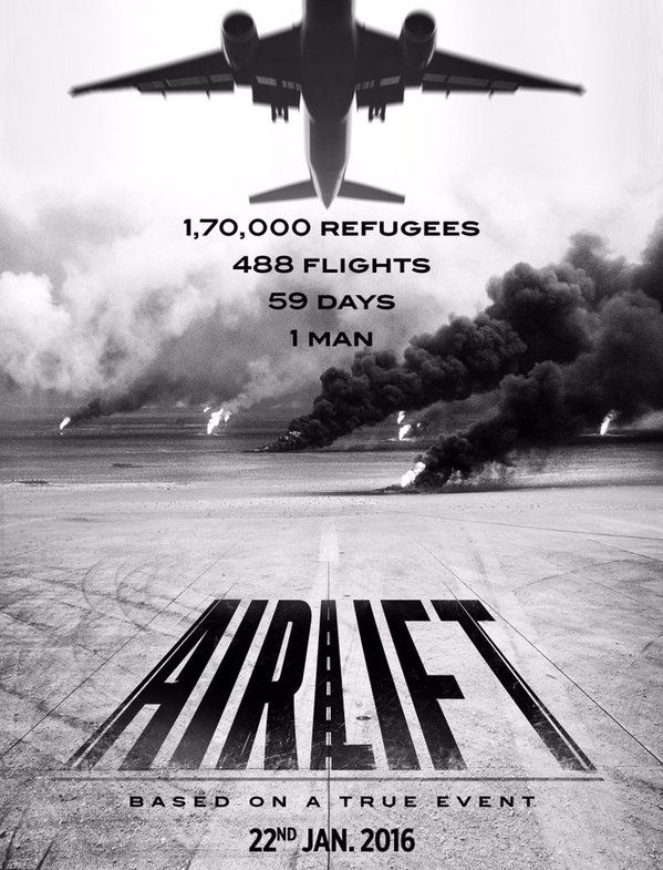 full cast and crew of bollywood movie Airlift! wiki, story, poster, trailer ft Akshay Kumar, Nimrat Kaur
