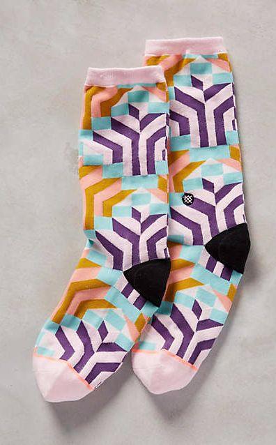 Pattern Play Socks #anthrofave