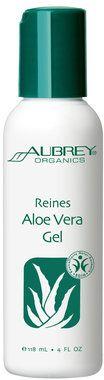 Aubrey Organics Gel d'Aloe Vera Pur