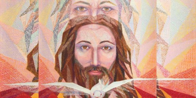 Clic en la imagen y sigue la reflexión del Evangelio de este Domingo  LECTIO DIVINA DOMINICAL DE LA SANTÍSIMA TRINIDAD CICLO A  «El que cree en él no es juzgado»  PRIMERA LECTURA: Éxodo 34, 4b- 6.8-9 SALMO RESPONSORIAL: Salmo Daniel 3, 52-56 SEGUNDA LECTURA: 2 Corintios 13,11-13  TEXTO BÍBLICO: Juan 3, 16-18  3,16: Tanto amó Dios al mundo, que entregó a su Hijo único, para que quien crea en él no muera, sino tenga vida eterna.