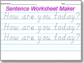 Amazing DNealian Handwriting Worksheet Maker