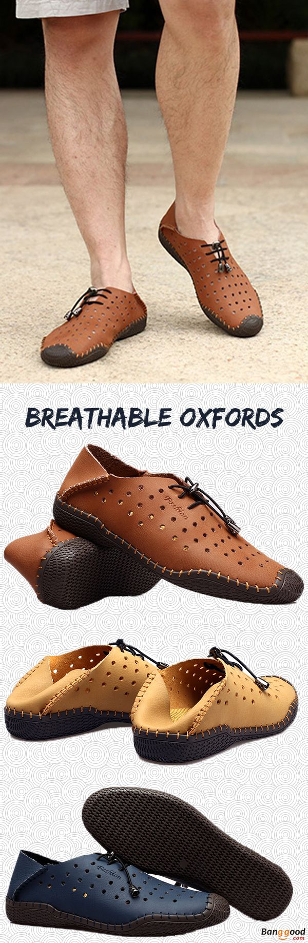 US$36.98 + Free shipping. Men Leather Shoes, Casual Leather Shoes, Hollow Out Shoes, Outdoor Shoes, Breathable Shoes, Mesh Oxfords. Color: Brown, Dark Blue, Yellow. Upper Material: Top Split Leather. Check Out this Casual Style Leather Shoes.