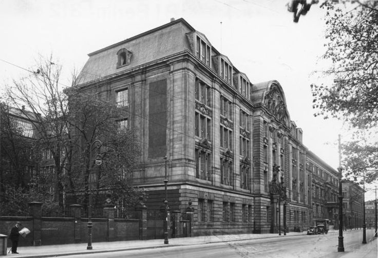 Gestapo Headquarters on Niederkirchnerstraße in Berlin, Germany. The Gestapo was the Nazi Germany equivalent to the NKVD. Just like the NKVD, the whole purpose of the Gestapo was to hunt down and deal with any groups or individuals that could pose a threat to Hitler or the Nazis.
