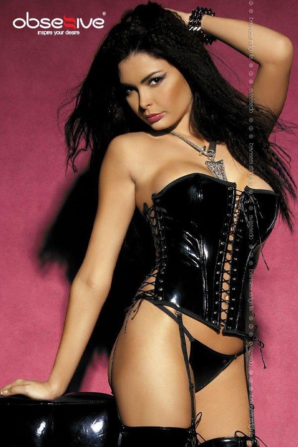 corset en vinyle #http://www.pinterest.com/missilylou/