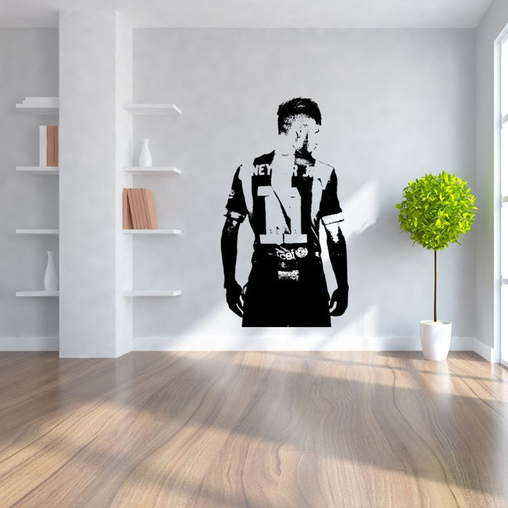 Soccer Players Wall Stickers For Kids Room