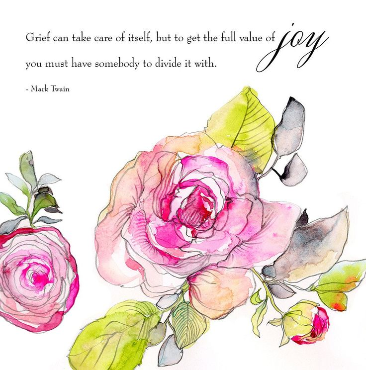 High quality print of Kristy's Pink Watercolor Roses Art Print artwork. Originally seen on and designed for Snippet and Ink's #WordstoLoveBy series.A large ...