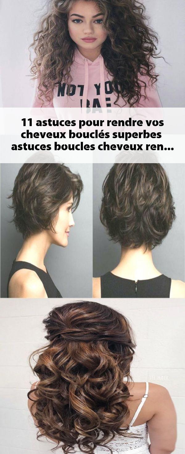 11 astuces pour rendre vos cheveux bouclés superbes  #astuces #boucles #cheveux…