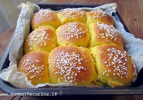 Mamma, che cucina!? PANINI DOLCI ALLA ZUCCA - pumpkin bread