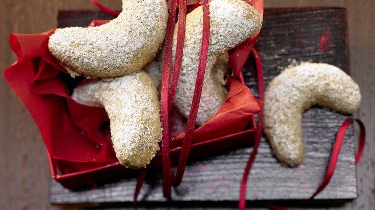 Der Klassiker, der auf keiner Kaffeetafel fehlen darf: Vanillekipferl