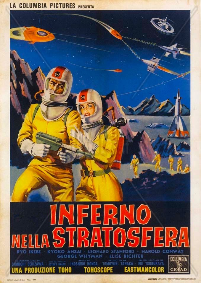 Battle In Outer Space (1959) Cheesy movies, Best movie