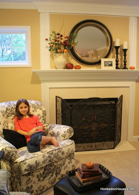 how to decorate for fall in 3 easy steps mantels