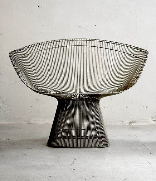 Warren Platner, armchair for Knoll, 1966.