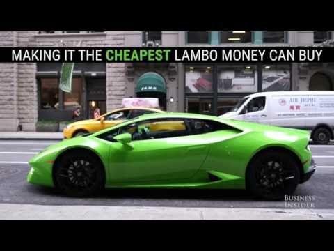 Business Insider: What it's like to drive the cheapest Lamborghini