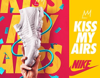 """Check out this @Behance project: """"KISS MY AIRS ® Nike 30th Anniversary"""" https://www.behance.net/gallery/50886671/KISS-MY-AIRS-Nike-30th-Anniversary"""