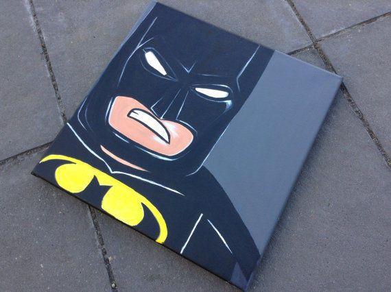 Batman Kids acrylic artwork room decor cartoon character Lego Batman