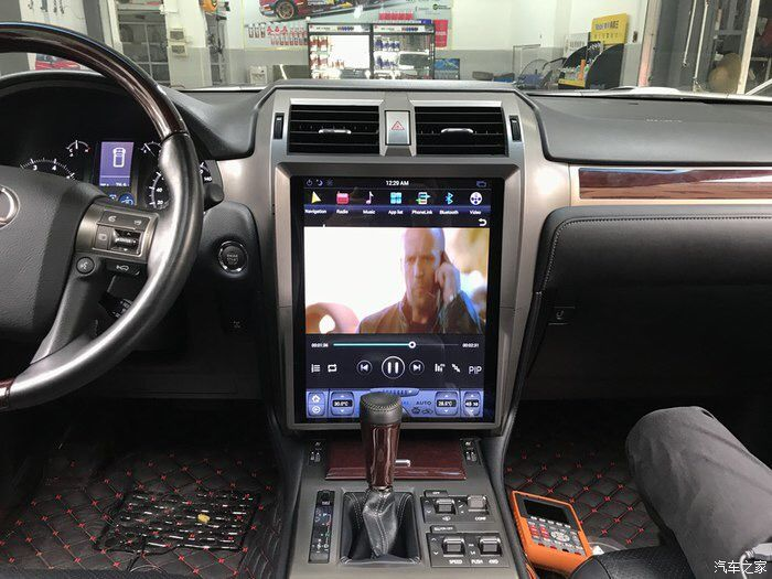 15 Tesla Style Navigation Vertical Screen Android Radio For Lexus