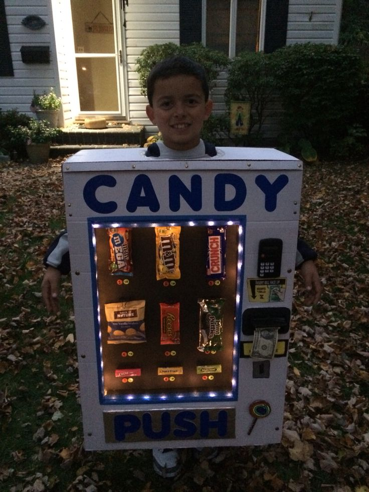 Vending machine Halloween costume!