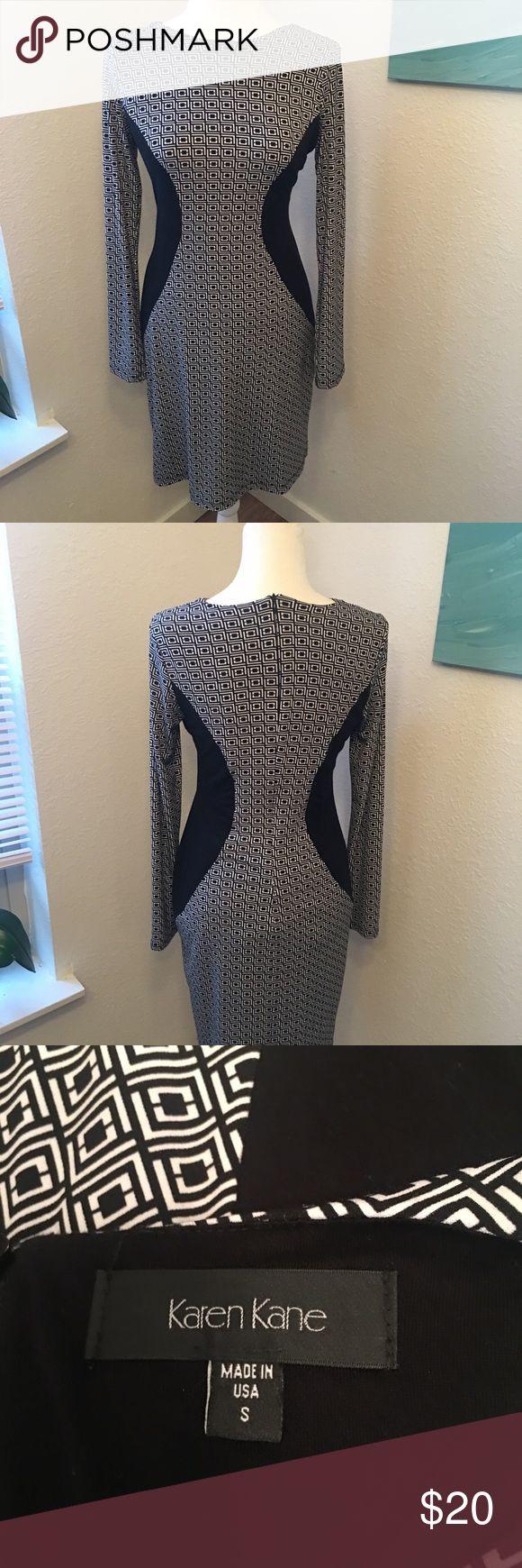Karen Kane waist flattering dress Karen Kane waist flattering dress. Lined. Karen Kane Dresses Long Sleeve