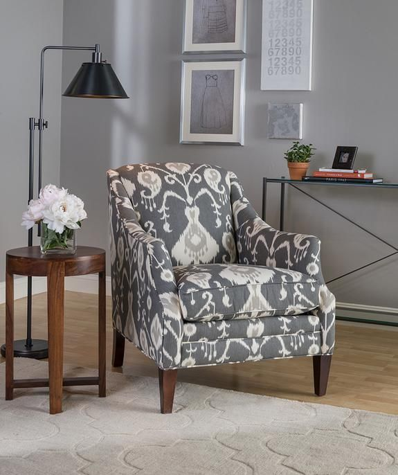 Stormy Skies Inspired This Color Palette Boston InteriorsFabric ChairsLiving Room