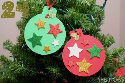 24 Christmas Crafts for Kids » Random Tuesdays