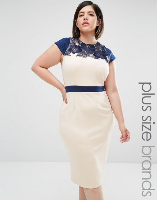 Image result for cream skater dress plus size | Work Outfit ...