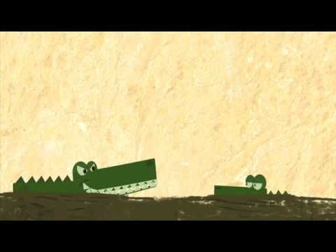 Teachind resources. The Enormous Crocodile Animated Text