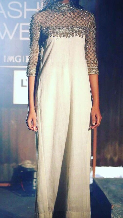 Beautiful dress by Anand Kabra at Lakme Fashion Week 2016