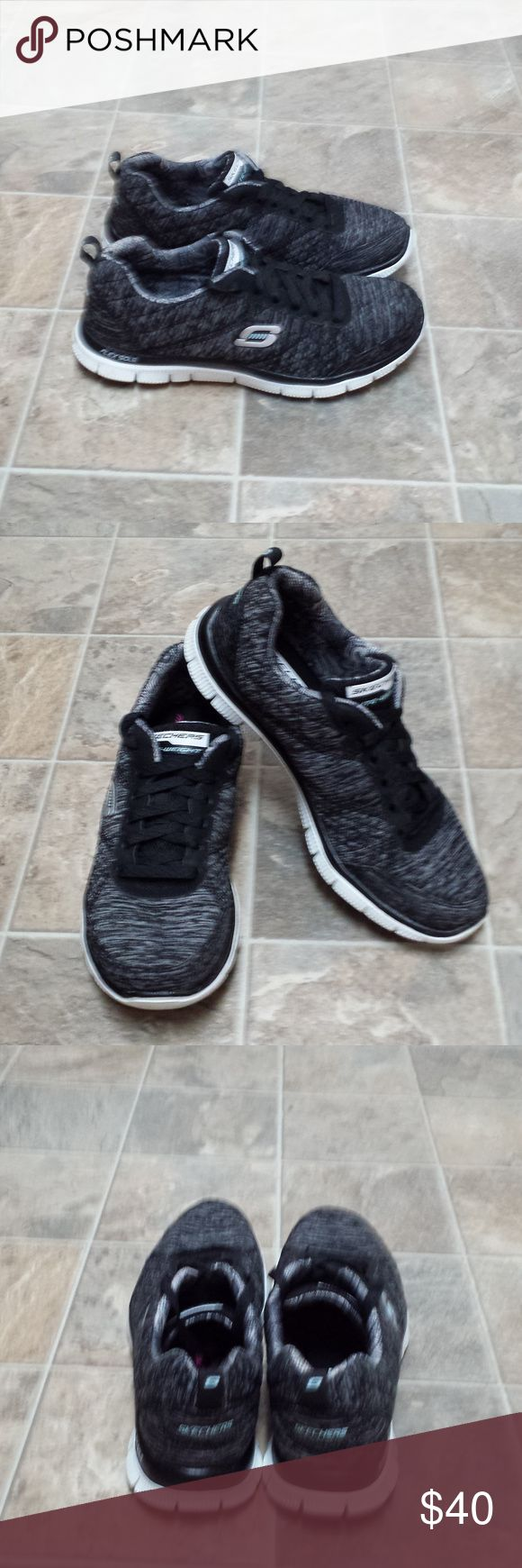 Skechers Flex Sole Memory Foam Athletic Shoes 8 Skechers Flex Sole Memory Foam Athletic Shoes Womens Size 8 Medium Width. In Great Pre-owned Condition. Only been gently worn just a few times. Very Comfortable and Nice Shoes. Check out my other listings. Skechers Shoes Athletic Shoes