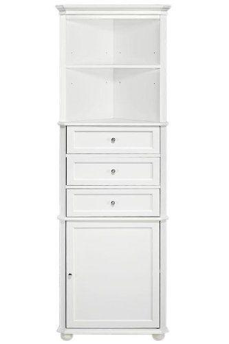 64 best bathroom images on pinterest bathroom cabinets for Corner set of drawers